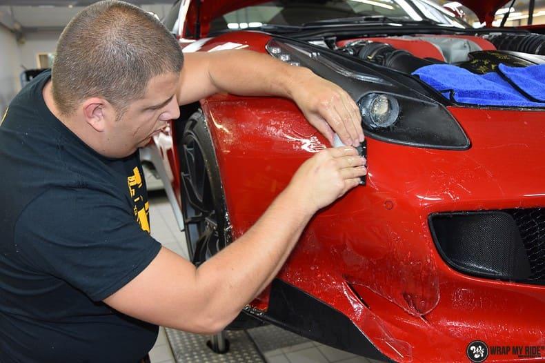 Ferrari F12 TDF Xpel Ultimate, Carwrapping door Wrapmyride.nu Foto-nr:10342, ©2018