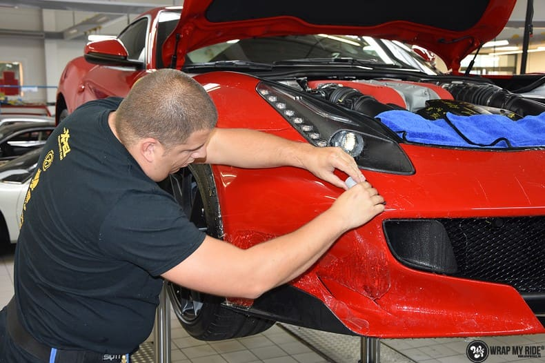 Ferrari F12 TDF Xpel Ultimate, Carwrapping door Wrapmyride.nu Foto-nr:10344, ©2018