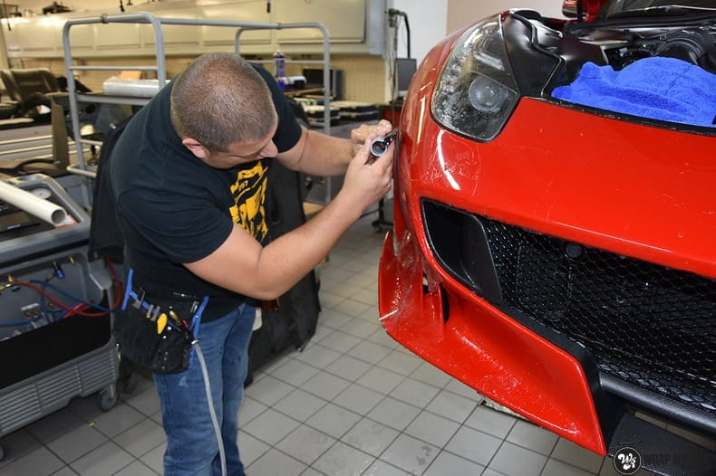 Ferrari F12 TDF Xpel Ultimate, Carwrapping door Wrapmyride.nu Foto-nr:10347, ©2018