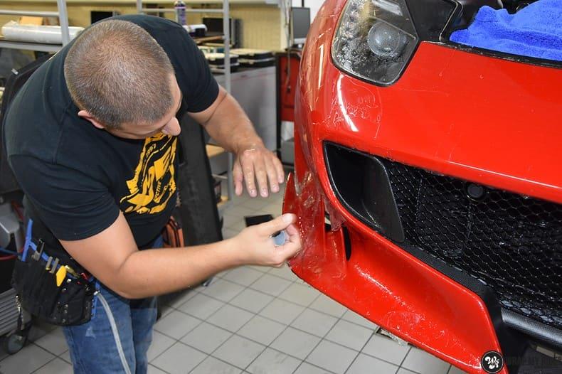 Ferrari F12 TDF Xpel Ultimate, Carwrapping door Wrapmyride.nu Foto-nr:10348, ©2021