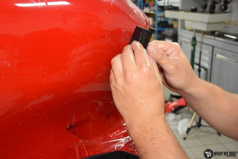 Ferrari F12 TDF Xpel Ultimate, Carwrapping door Wrapmyride.nu Foto-nr:10349, ©2018
