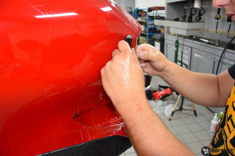 Ferrari F12 TDF Xpel Ultimate, Carwrapping door Wrapmyride.nu Foto-nr:10350, ©2018