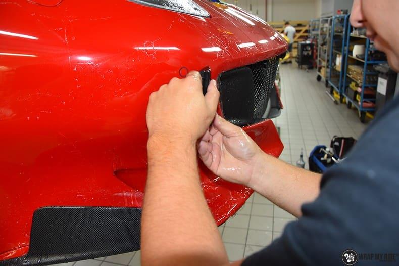 Ferrari F12 TDF Xpel Ultimate, Carwrapping door Wrapmyride.nu Foto-nr:10351, ©2018