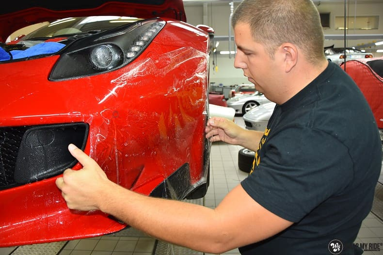 Ferrari F12 TDF Xpel Ultimate, Carwrapping door Wrapmyride.nu Foto-nr:10355, ©2018