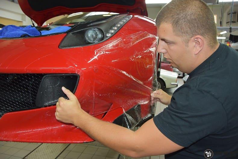 Ferrari F12 TDF Xpel Ultimate, Carwrapping door Wrapmyride.nu Foto-nr:10356, ©2020