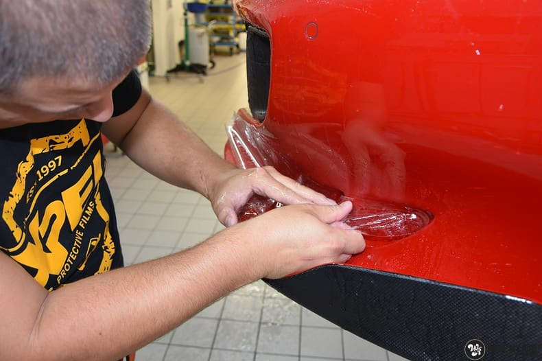 Ferrari F12 TDF Xpel Ultimate, Carwrapping door Wrapmyride.nu Foto-nr:10357, ©2018