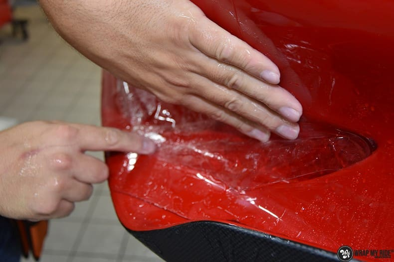Ferrari F12 TDF Xpel Ultimate, Carwrapping door Wrapmyride.nu Foto-nr:10358, ©2021