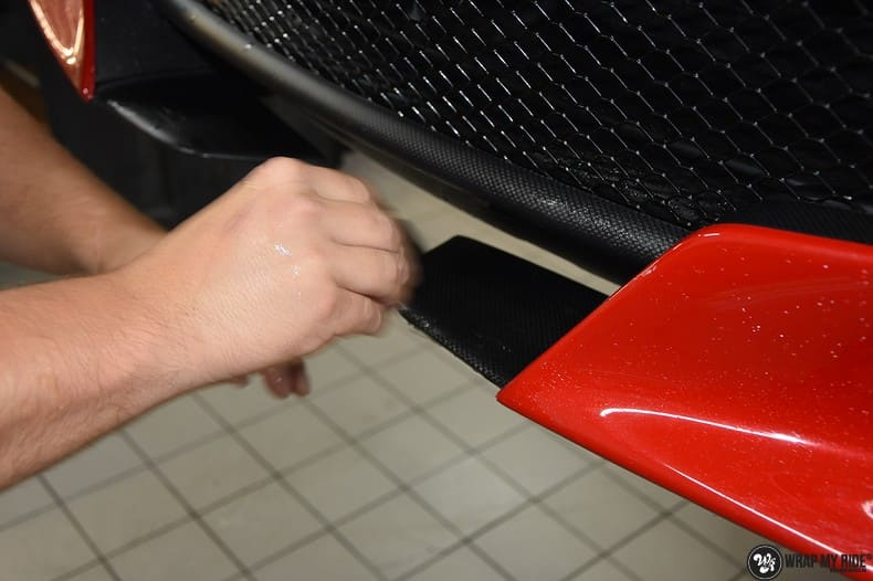 Ferrari F12 TDF Xpel Ultimate, Carwrapping door Wrapmyride.nu Foto-nr:10360, ©2018