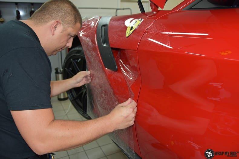 Ferrari F12 TDF Xpel Ultimate, Carwrapping door Wrapmyride.nu Foto-nr:10374, ©2018