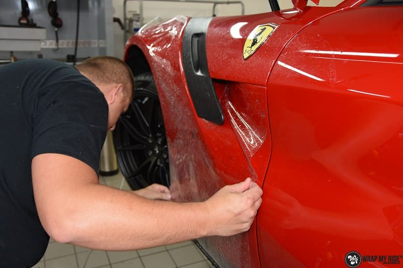 Ferrari F12 TDF Xpel Ultimate, Carwrapping door Wrapmyride.nu Foto-nr:10375, ©2018