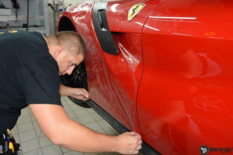 Ferrari F12 TDF Xpel Ultimate, Carwrapping door Wrapmyride.nu Foto-nr:10376, ©2018