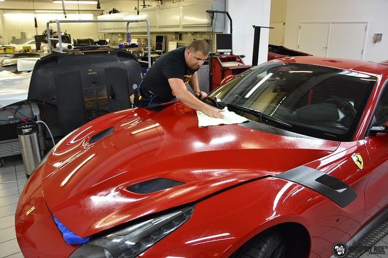 Ferrari F12 TDF Xpel Ultimate, Carwrapping door Wrapmyride.nu Foto-nr:10380, ©2018