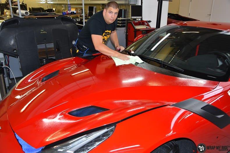 Ferrari F12 TDF Xpel Ultimate, Carwrapping door Wrapmyride.nu Foto-nr:10381, ©2018