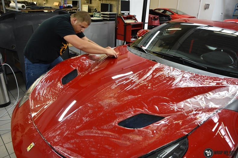 Ferrari F12 TDF Xpel Ultimate, Carwrapping door Wrapmyride.nu Foto-nr:10383, ©2018