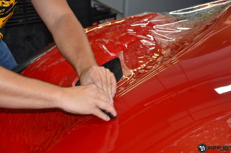 Ferrari F12 TDF Xpel Ultimate, Carwrapping door Wrapmyride.nu Foto-nr:10384, ©2018