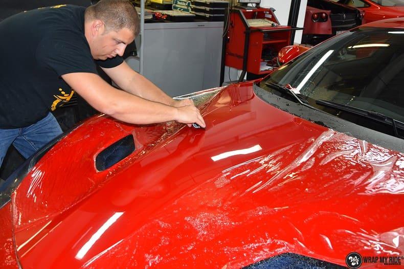 Ferrari F12 TDF Xpel Ultimate, Carwrapping door Wrapmyride.nu Foto-nr:10385, ©2018