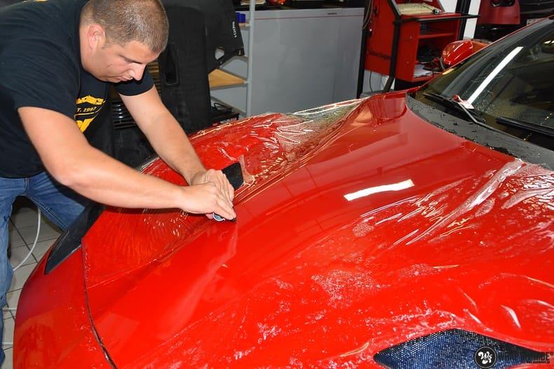 Ferrari F12 TDF Xpel Ultimate, Carwrapping door Wrapmyride.nu Foto-nr:10386, ©2018