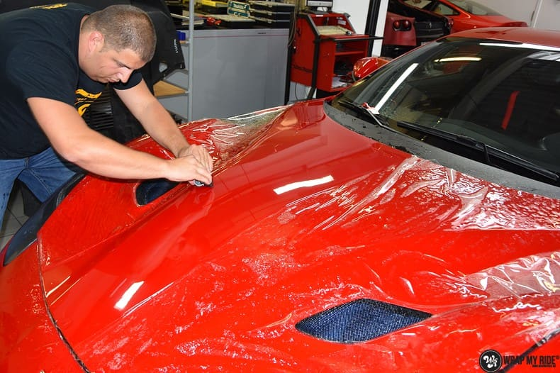 Ferrari F12 TDF Xpel Ultimate, Carwrapping door Wrapmyride.nu Foto-nr:10387, ©2018