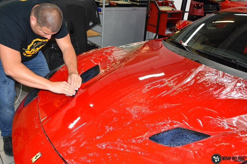 Ferrari F12 TDF Xpel Ultimate, Carwrapping door Wrapmyride.nu Foto-nr:10388, ©2018