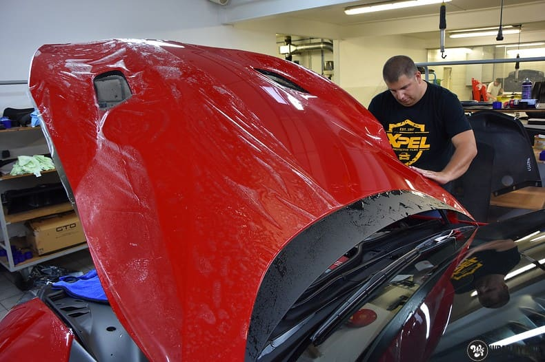 Ferrari F12 TDF Xpel Ultimate, Carwrapping door Wrapmyride.nu Foto-nr:10389, ©2018
