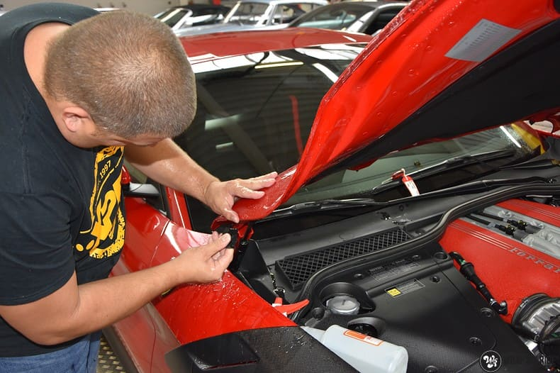 Ferrari F12 TDF Xpel Ultimate, Carwrapping door Wrapmyride.nu Foto-nr:10391, ©2018
