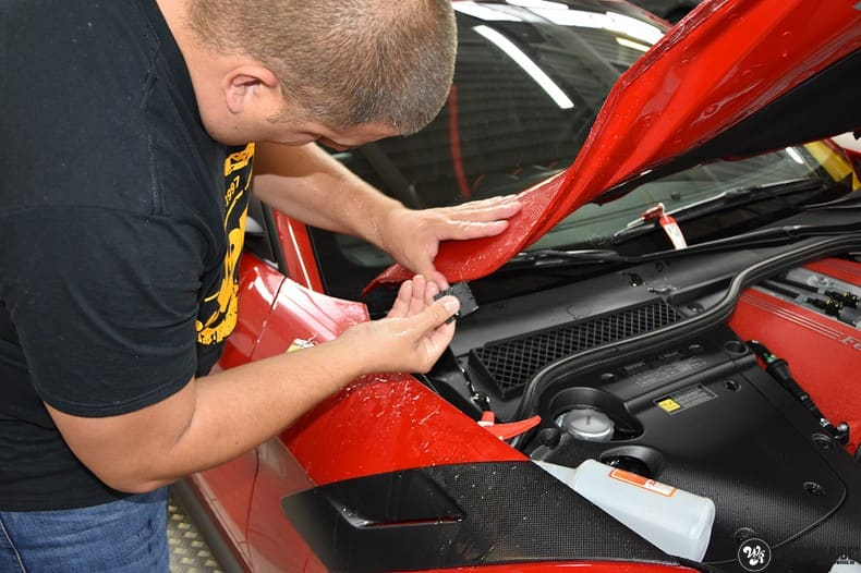 Ferrari F12 TDF Xpel Ultimate, Carwrapping door Wrapmyride.nu Foto-nr:10392, ©2018