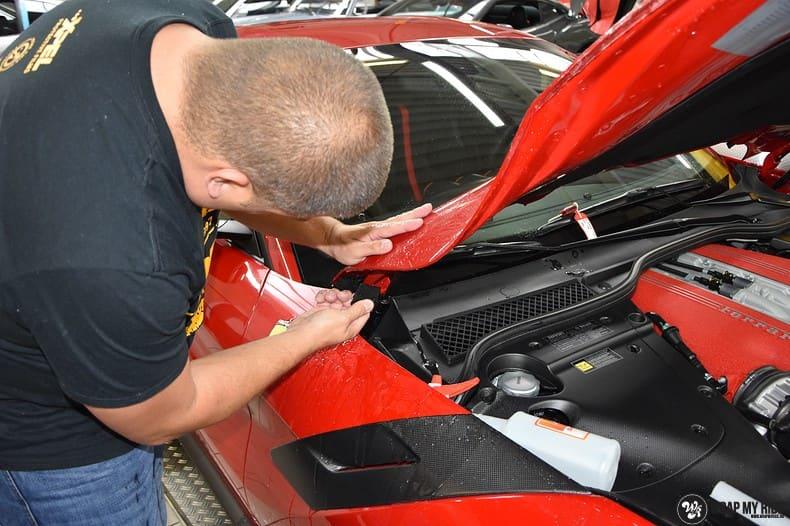 Ferrari F12 TDF Xpel Ultimate, Carwrapping door Wrapmyride.nu Foto-nr:10393, ©2018