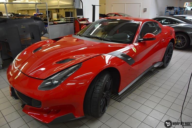 Ferrari F12 TDF Xpel Ultimate, Carwrapping door Wrapmyride.nu Foto-nr:10394, ©2021