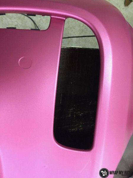 Fiat 695 Abarth avery matte pink metallic, Carwrapping door Wrapmyride.nu Foto-nr:11200, ©2019