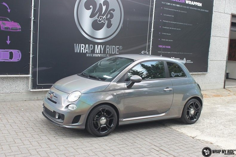Fiat Abarth 3M gloss Psychedelic Flip, Carwrapping door Wrapmyride.nu Foto-nr:11691, ©2020