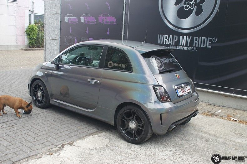 Fiat Abarth 3M gloss Psychedelic Flip, Carwrapping door Wrapmyride.nu Foto-nr:11690, ©2021