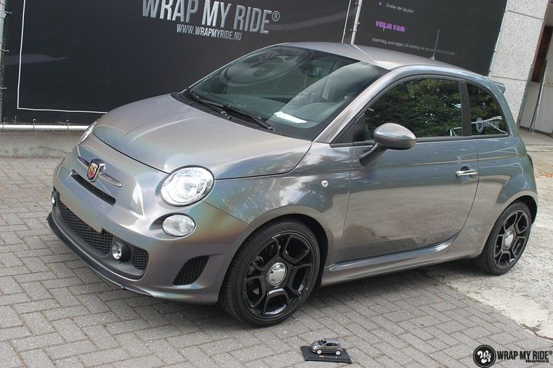 Fiat Abarth 3M gloss Psychedelic Flip, Carwrapping door Wrapmyride.nu Foto-nr:11689, ©2020