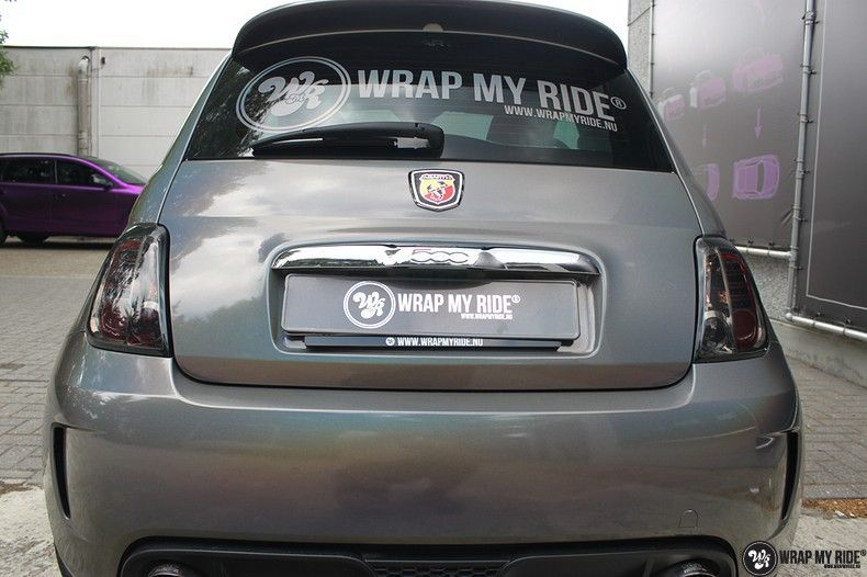 Fiat Abarth 3M gloss Psychedelic Flip, Carwrapping door Wrapmyride.nu Foto-nr:11687, ©2021