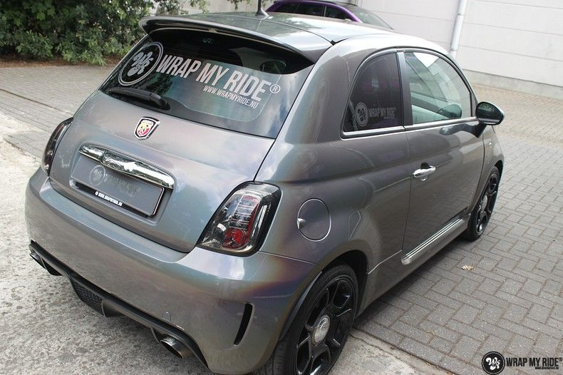 Fiat Abarth 3M gloss Psychedelic Flip, Carwrapping door Wrapmyride.nu Foto-nr:11686, ©2020