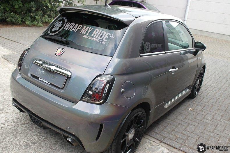 Fiat Abarth 3M gloss Psychedelic Flip, Carwrapping door Wrapmyride.nu Foto-nr:11686, ©2021