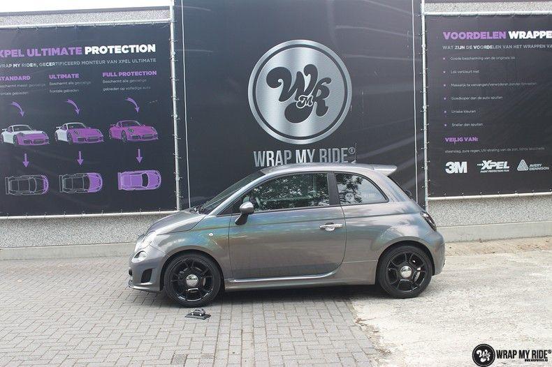 Fiat Abarth 3M gloss Psychedelic Flip, Carwrapping door Wrapmyride.nu Foto-nr:11684, ©2021
