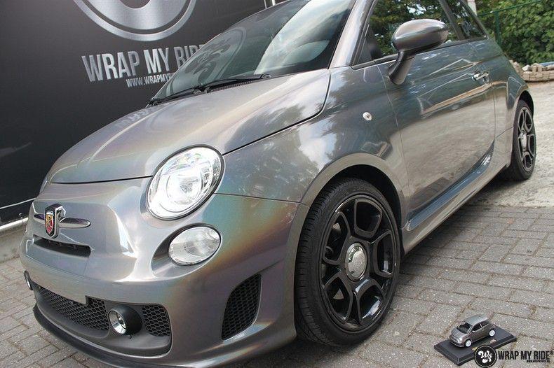 Fiat Abarth 3M gloss Psychedelic Flip, Carwrapping door Wrapmyride.nu Foto-nr:11682, ©2021