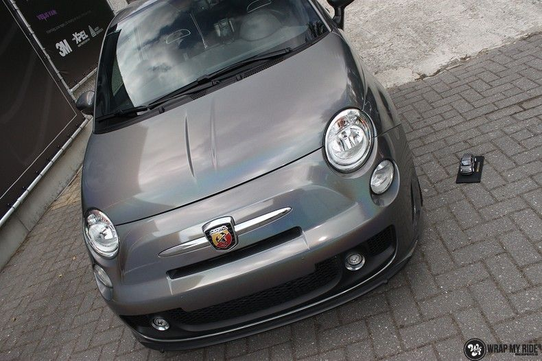 Fiat Abarth 3M gloss Psychedelic Flip, Carwrapping door Wrapmyride.nu Foto-nr:11679, ©2020
