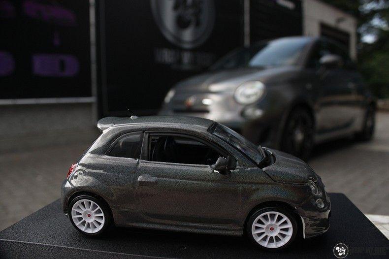 Fiat Abarth 3M gloss Psychedelic Flip, Carwrapping door Wrapmyride.nu Foto-nr:11675, ©2021