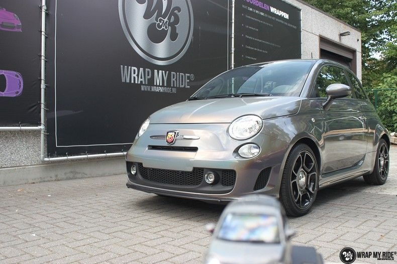 Fiat Abarth 3M gloss Psychedelic Flip, Carwrapping door Wrapmyride.nu Foto-nr:11670, ©2020
