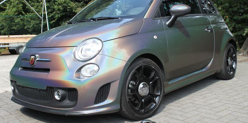 Fiat Abarth 3M gloss Psychedelic Flip