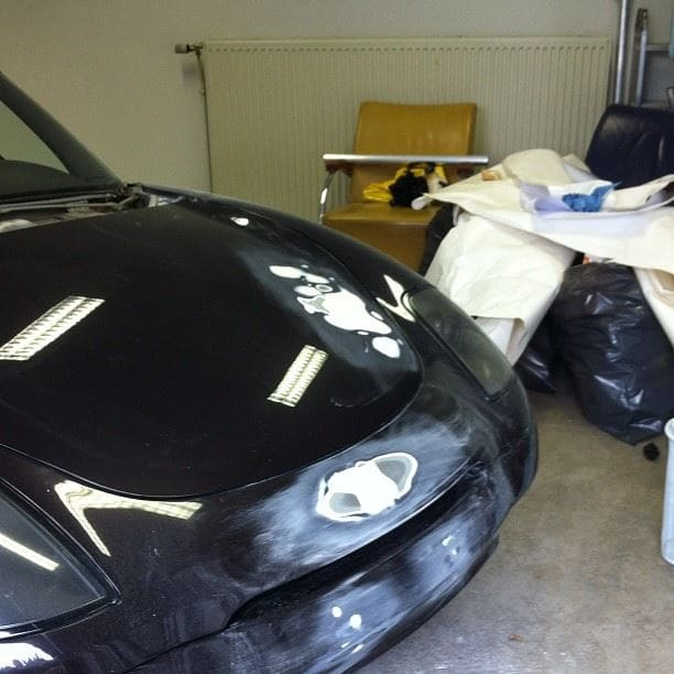 Fiat Barchetta met bat Mobile Style Wrap, Carwrapping door Wrapmyride.nu Foto-nr:5739, ©2020