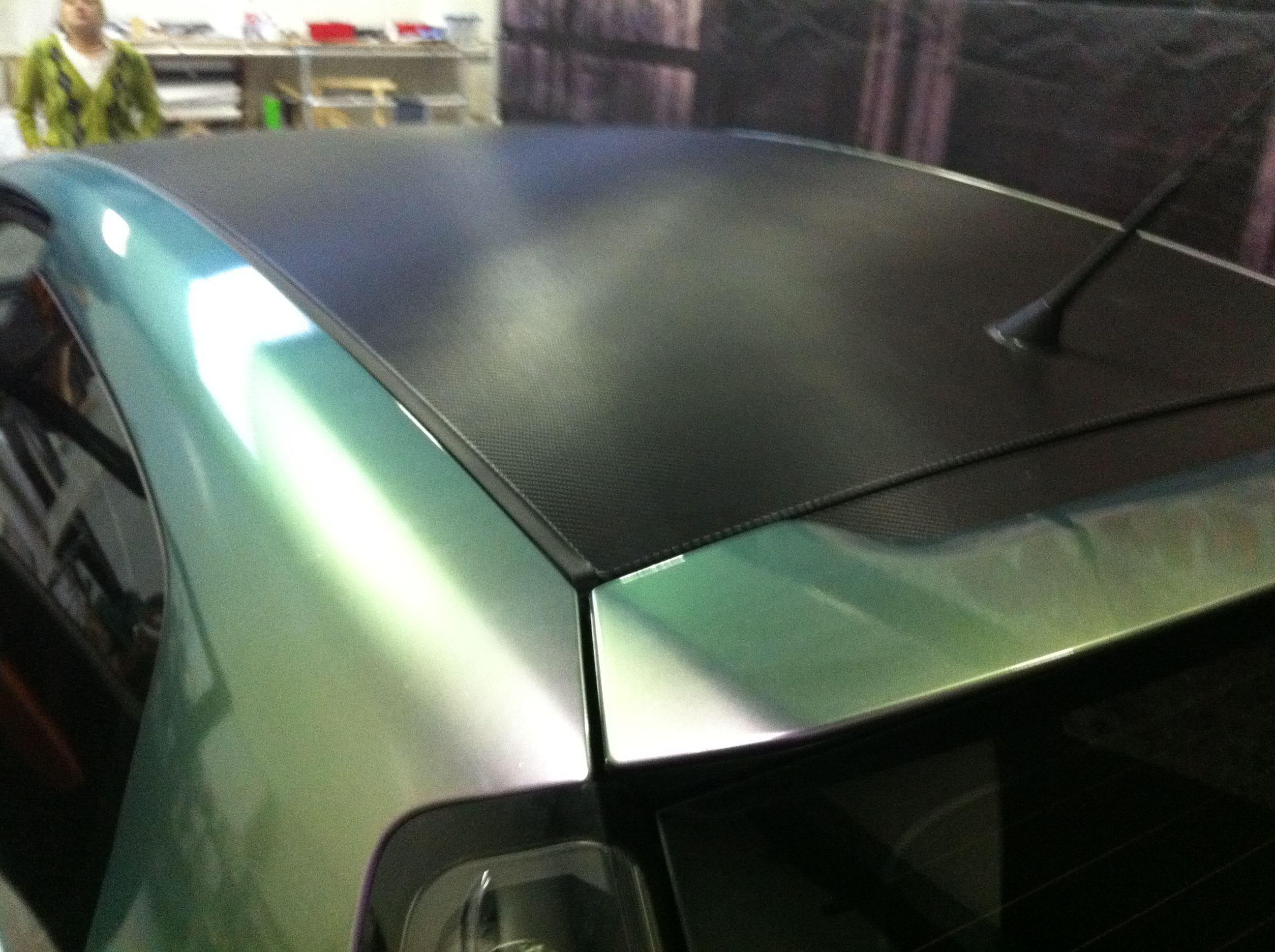 Fiat Grande Punto in een Chameleon Color Wrap, Carwrapping door Wrapmyride.nu Foto-nr:5758, ©2020