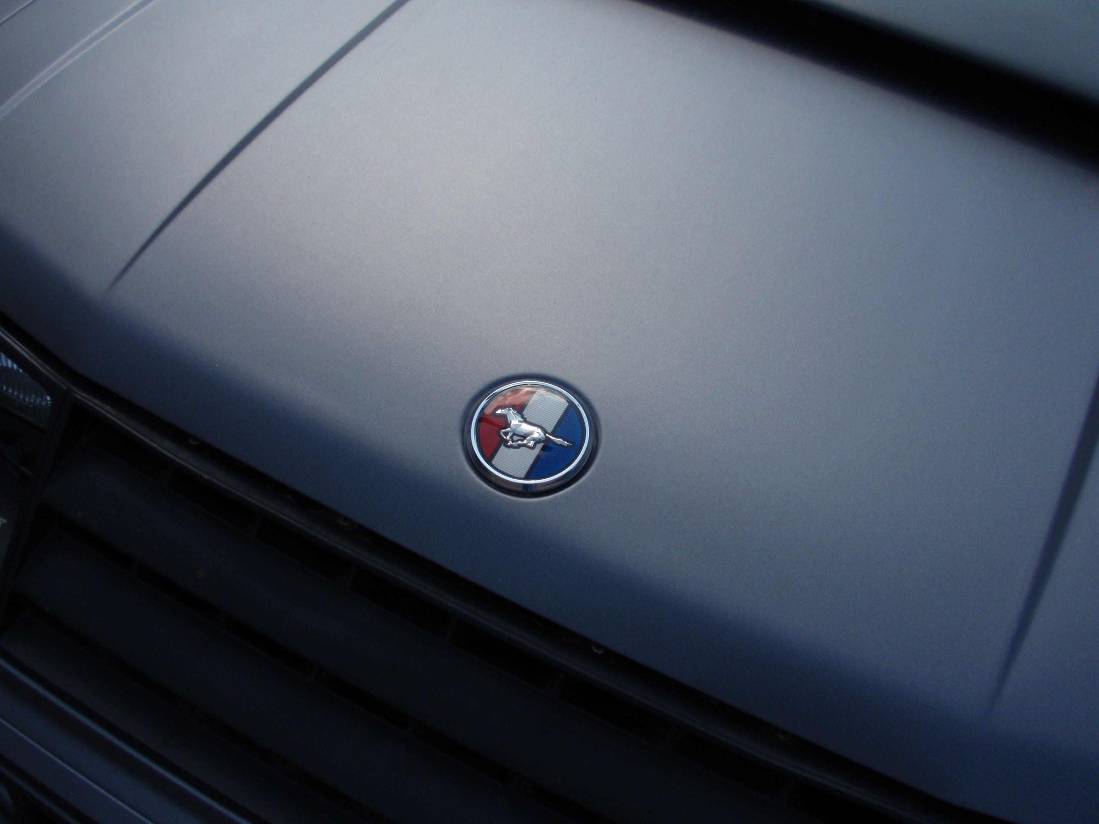 Ford Mustang Mach 3 met Mat Zwarte Wrap, Carwrapping door Wrapmyride.nu Foto-nr:5839, ©2020