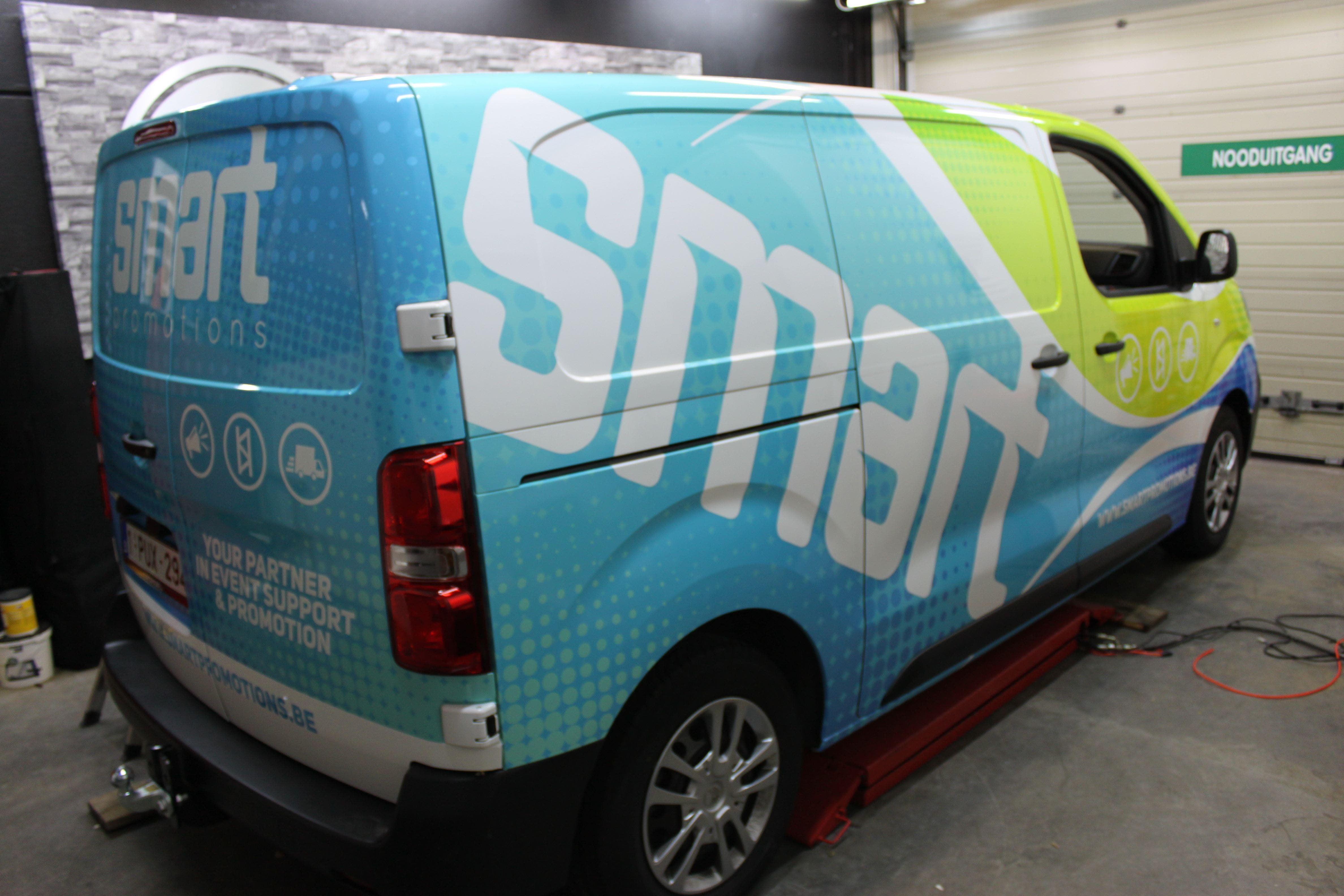 full colour wrap citroen jumpy, Carwrapping door Wrapmyride.nu Foto-nr:9324, ©2020