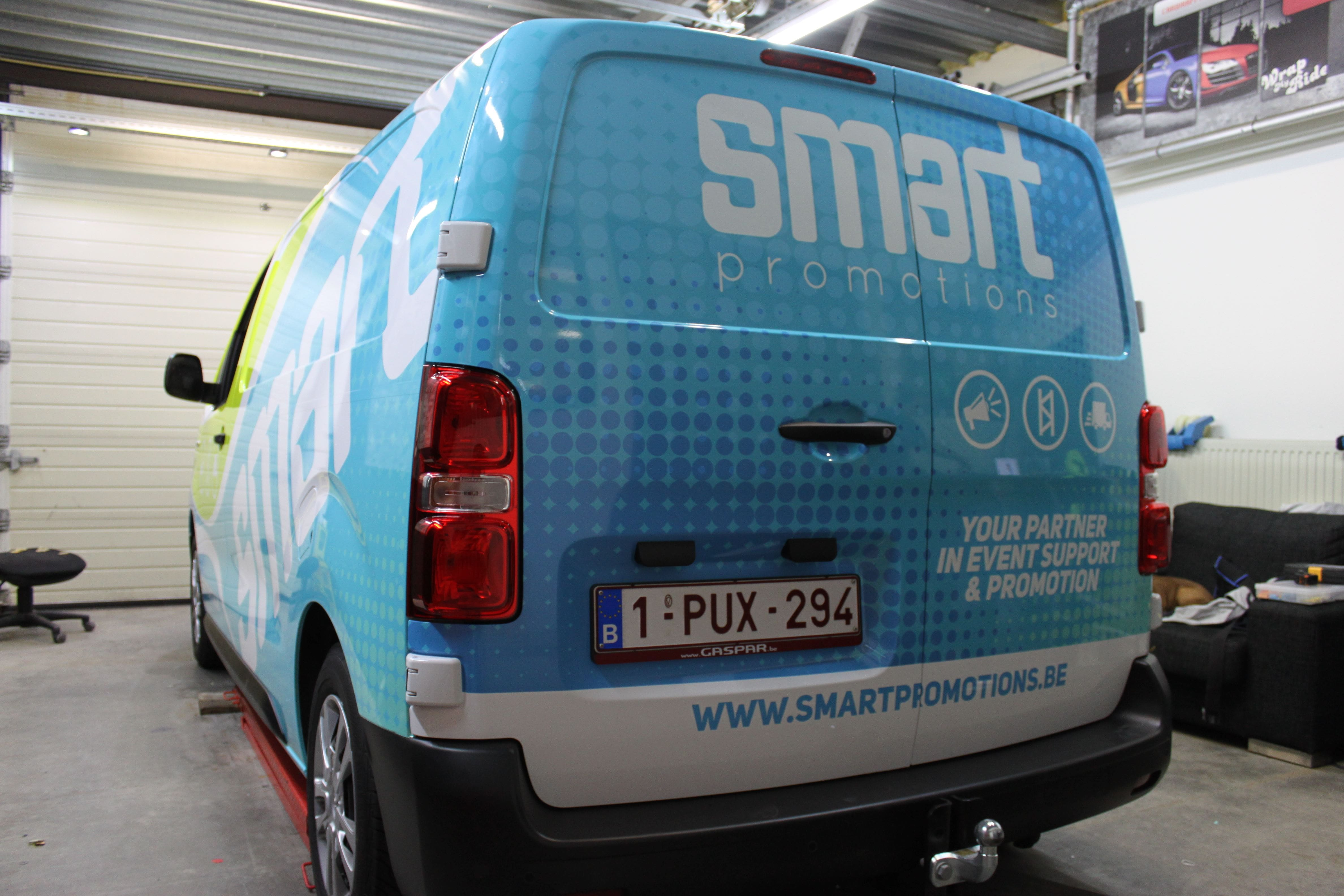 full colour wrap citroen jumpy, Carwrapping door Wrapmyride.nu Foto-nr:9322, ©2020
