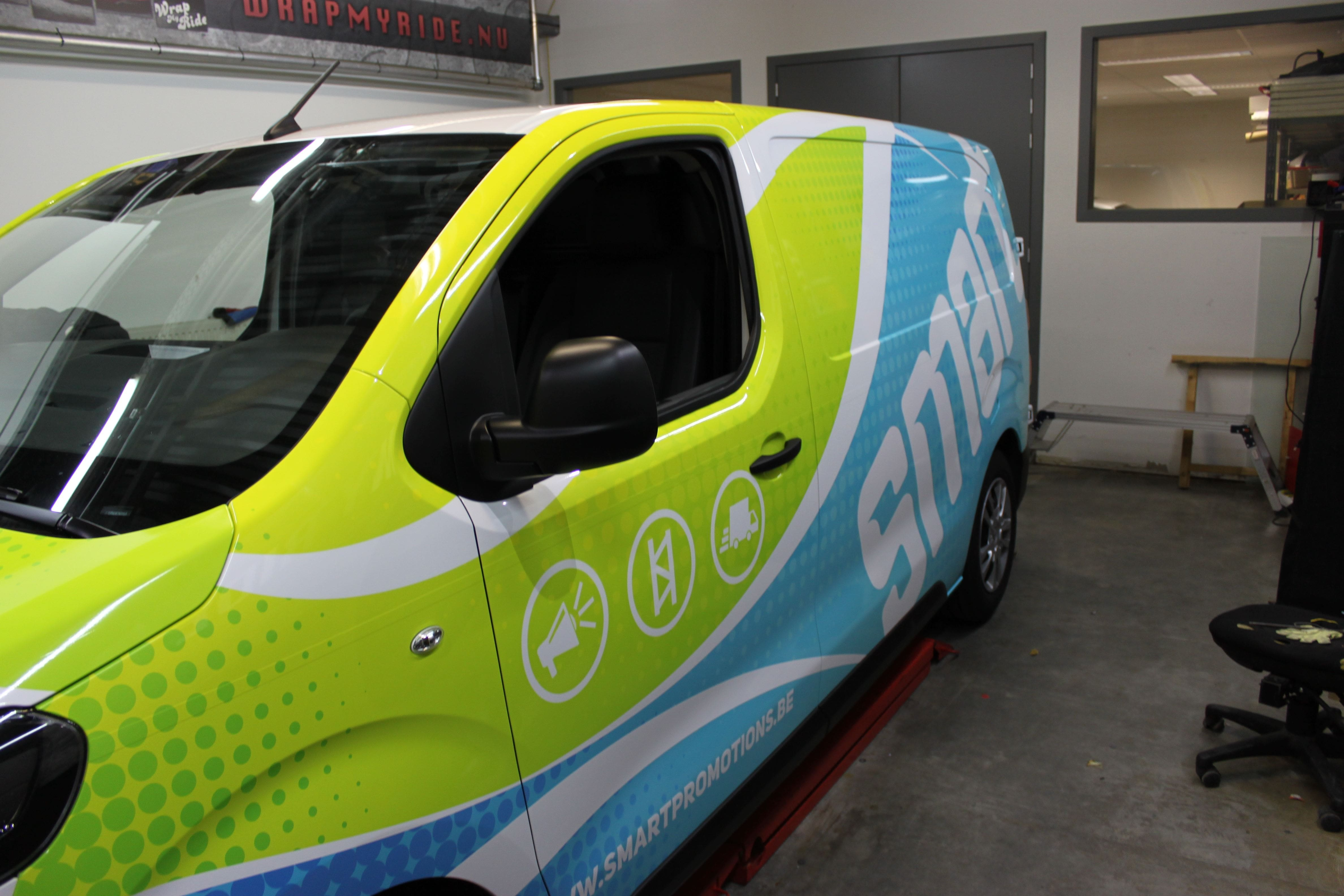 full colour wrap citroen jumpy, Carwrapping door Wrapmyride.nu Foto-nr:9318, ©2020