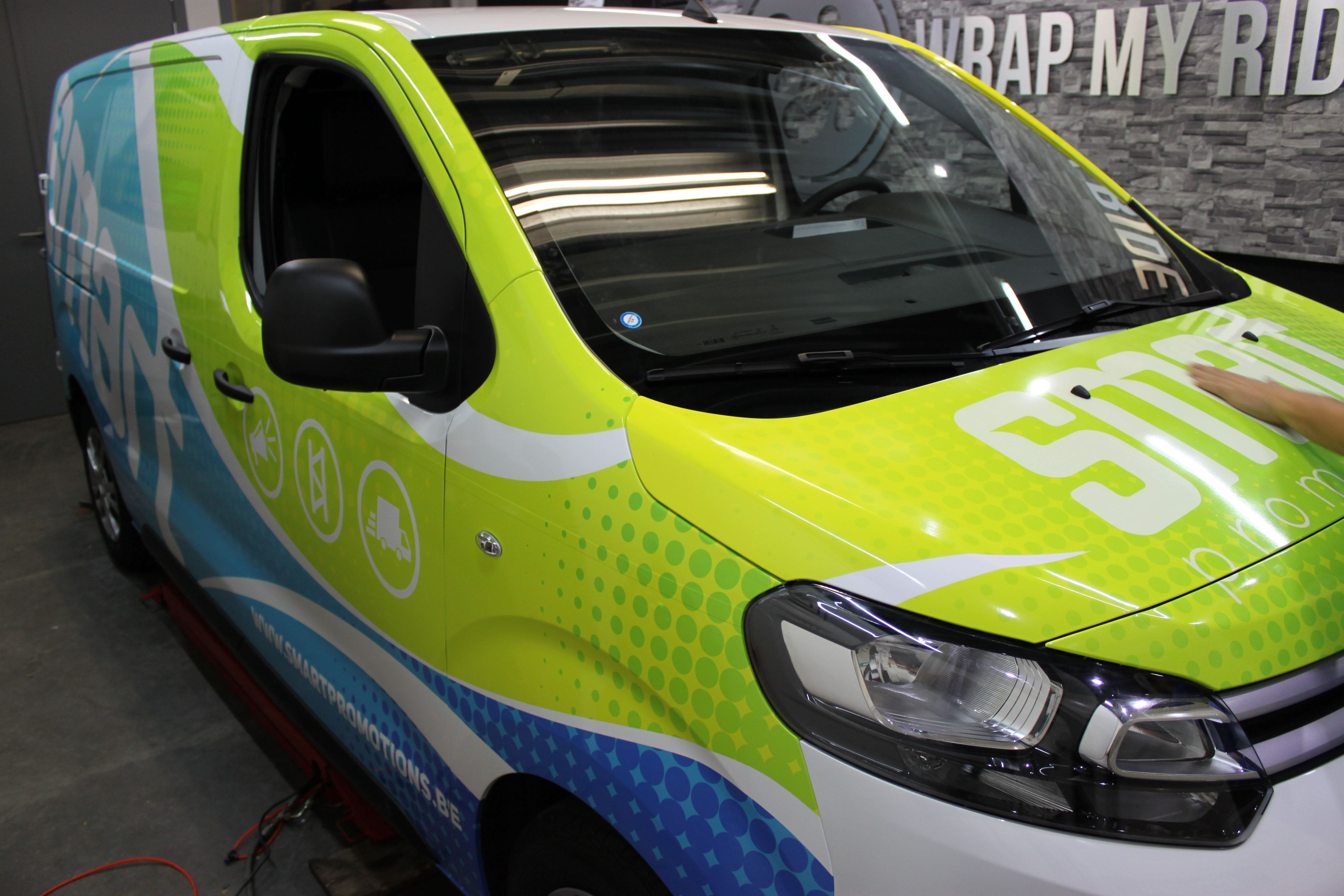 full colour wrap citroen jumpy, Carwrapping door Wrapmyride.nu Foto-nr:9316, ©2020