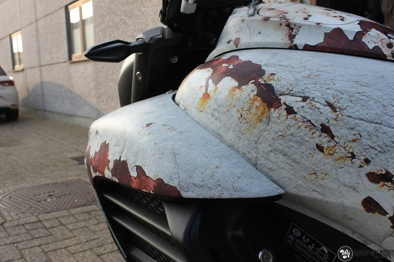 Honda F6C full colour roest wrap, Carwrapping door Wrapmyride.nu Foto-nr:10402, ©2020