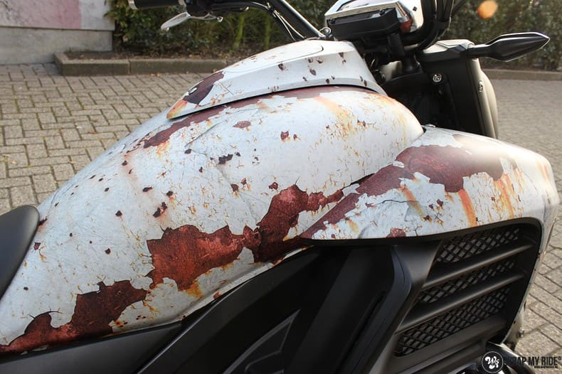 Honda F6C full colour roest wrap, Carwrapping door Wrapmyride.nu Foto-nr:10401, ©2021